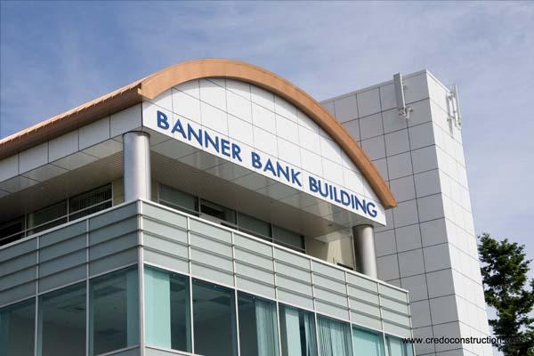 Banner Bank Building Repair - Credo Construction